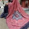 Handblock Buti Print Mul Cotton Saree