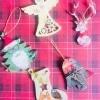Handmade Greeting Card for Christmas( Set of 4 )