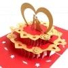 Paris Love Anniversary Handmade Greeting Card