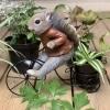 Iscg002 Squirrel Bike Planter