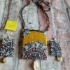 Handcrafted Exclusive Piece of Fabric Jewelry