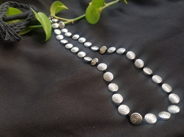 German Silver Lon Necklace & Anklet Combo | 30 | 20190123 124327
