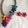 Pastel set of Beautiful Embroidery Masks (Set of 3)