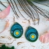 Quilled Rainbow earrings