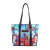 Life on Fire Tote bags